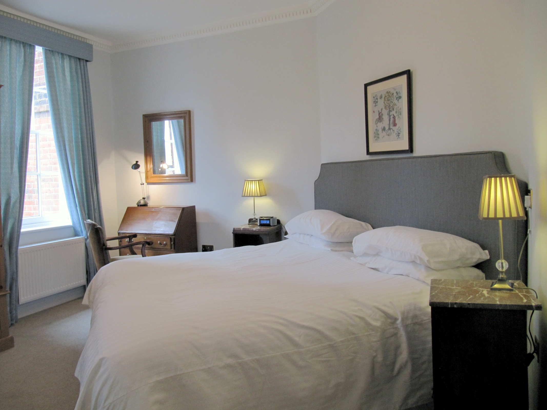 Double guest bedroom, Groom's House, Cumberland Lodge
