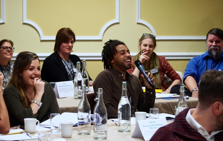 Participants at a Cumberland Lodge conference