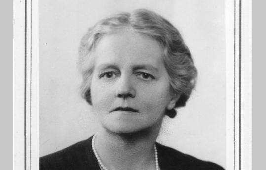 Amy Buller, founding warden of Cumberland Lodge and author of Darkness over Germany