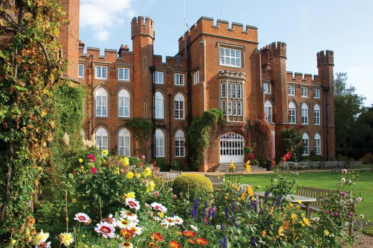 Cumberland Lodge in summer, Windsor Great Park