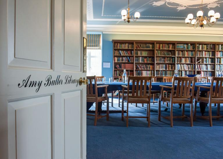 Amy Buller Library at Cumberland Lodge (photo taken from the door)