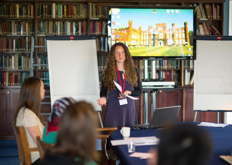 Student event at Cumberland Lodge