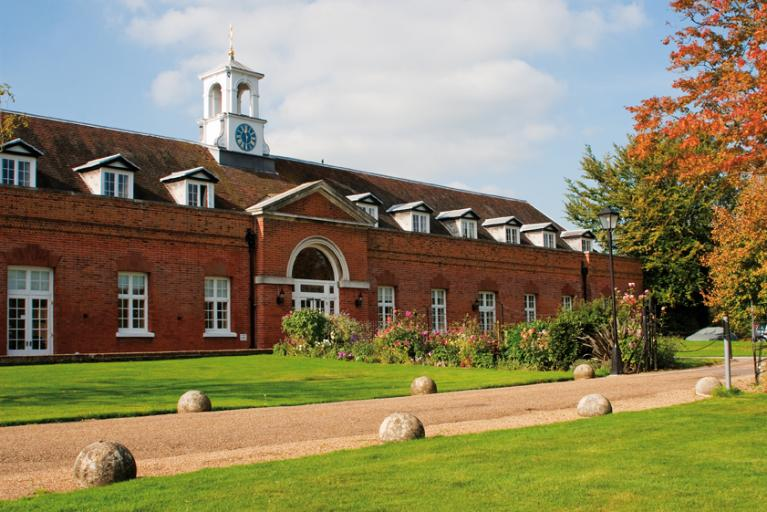 The Mews conference centre at Cumberland Lodge, Windsor Great Park